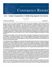 Hurricane Conference Report